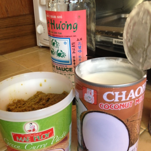 Coconut Curry Fish Sauce